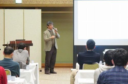 川人会長の講演