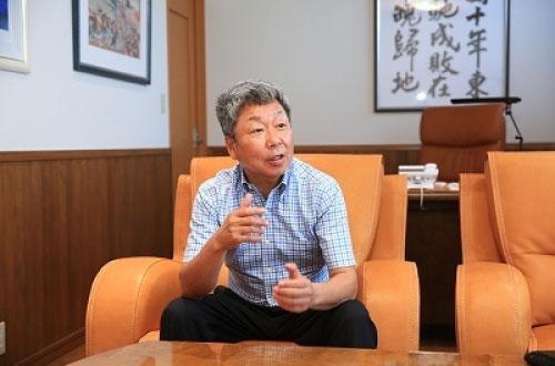 代表取締役 田中 一兆さん