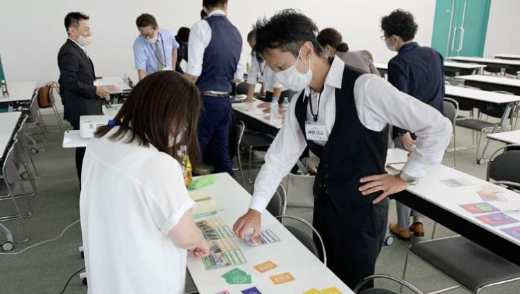 SDGsカードゲーム研修